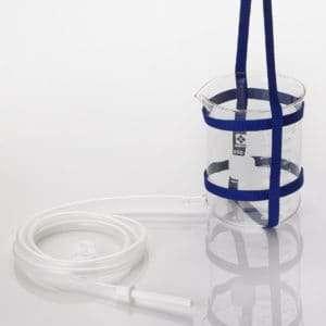 1 QT GLASS w TUBING AND HARNESS