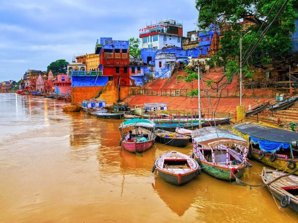 Banks of the Ganges River India