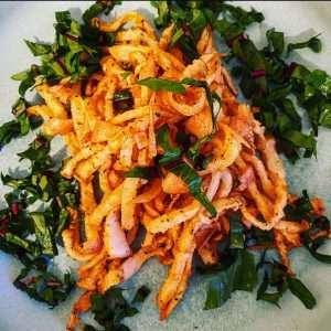 Raw Vegan Jicama French Fries