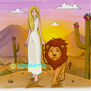 Spiritual Courage with Eha 7th Dimensional Lion Being Main Guide