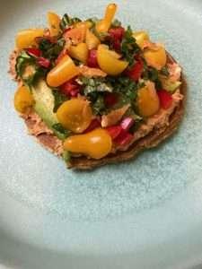 Raw Vegan Tostada Recipe